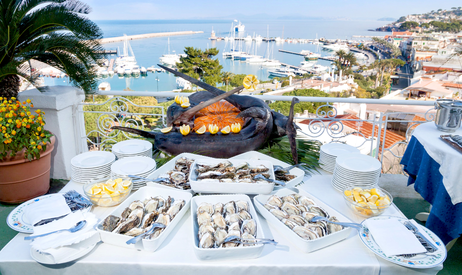 hotel-terme-gran-paradiso-ischia-casamicciola-buffet-terrazzo
